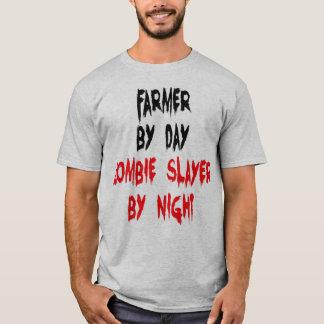 Farmer Zombie Joke T-Shirt