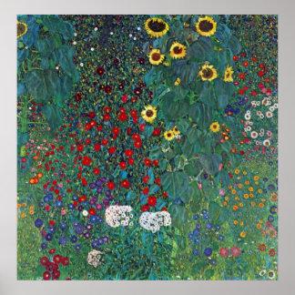 Farmergarden Sunflower Klimt Vintage Flowers Posters