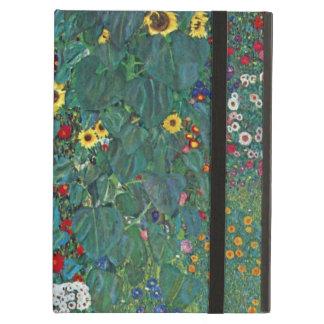 Farmergarden w Sunflower by Klimt, Vintage Flowers iPad Air Case