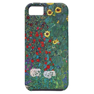 Farmergarden w Sunflower by Klimt, Vintage Flowers iPhone 5 Cover