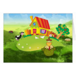 Farmers Chick Greeting Cards