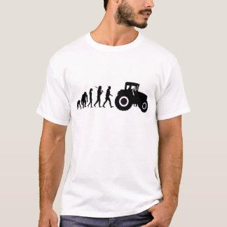 Farmers Evolution of Farming Farm Tractor Drivers T-Shirt