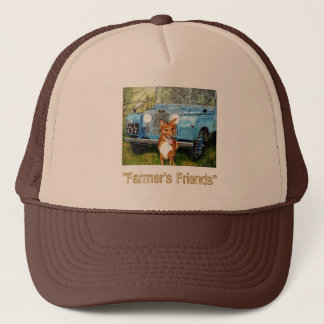 """Farmer's Friend's Truckers Hat"" Trucker Hat"