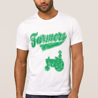 Farmers Green Tractor T-Shirt