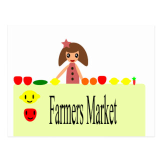 Farmers Market 2.0 51Z Postcard