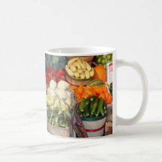 Farmers Market Basic White Mug