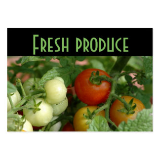 Farmer's Market Business Cards