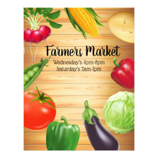 Farmers Market Business Promotional Flyer