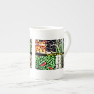 Farmers' Market china mug Tea Cup