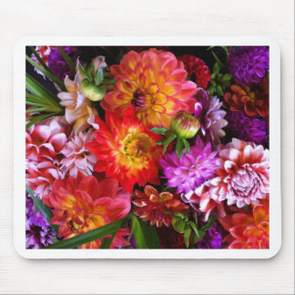 Farmers market flowers mouse pad
