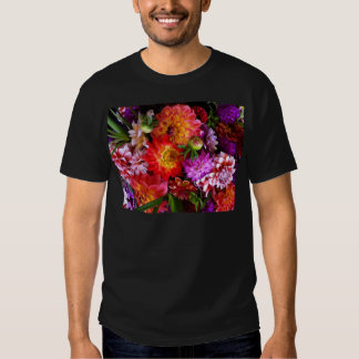 Farmers market flowers tees