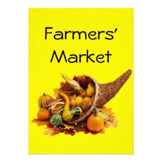 Farmers Market Personalized Announcements