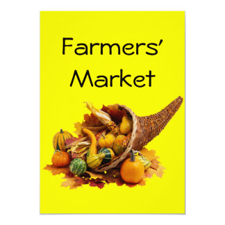 Farmers' Market Personalized Announcements
