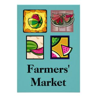 Farmers' Market Personalized Invitation