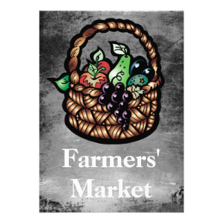 Farmers Market Custom Invitations