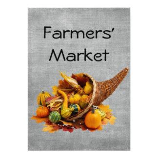Farmers Market Custom Invites