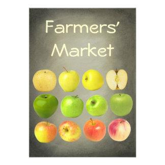 Farmers' Market Custom Invites