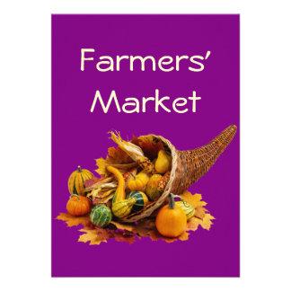 Farmers' Market Personalized Invite