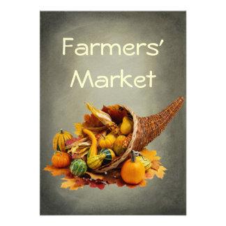 Farmers' Market Personalized Announcement