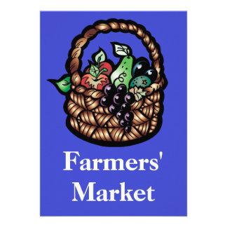 Farmers' Market Invites