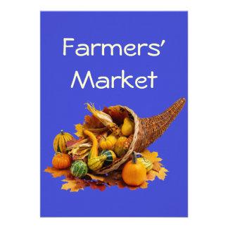Farmers Market Personalized Invites