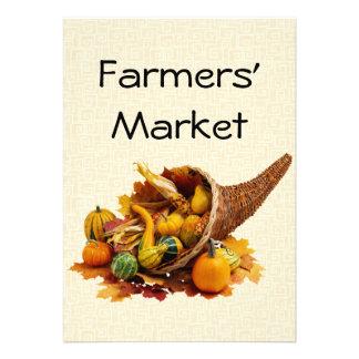 Farmers Market Custom Invitation