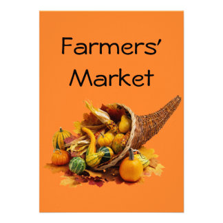 Farmers Market Custom Announcements