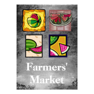 Farmers' Market Custom Announcement
