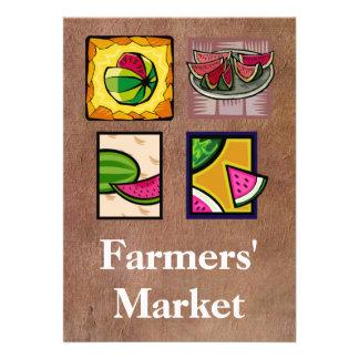 Farmers' Market Custom Invitations