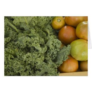 Farmer's Market Kale and Tomato Card