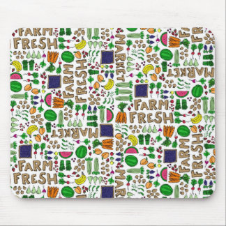 Farmer's Market Medley Mouse Pads