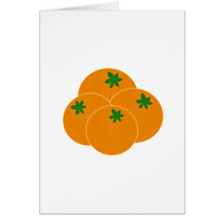Farmers Market Oranges Assortment Greeting Card