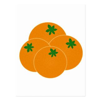 Farmers Market Oranges Assortment Postcard
