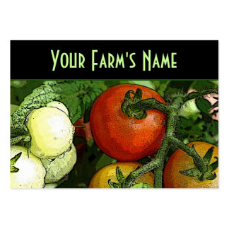 Farmer's Market Pack Of Chubby Business Cards