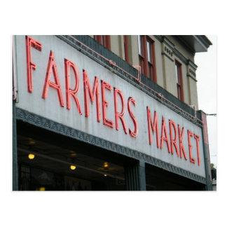 Farmer's Market Postcard