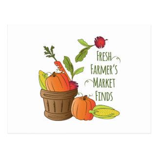 Farmers Market Postcard
