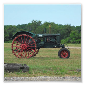 Farmers Tractor Photo Print