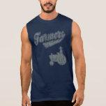 Farmers Tractor Sleeveless Shirts