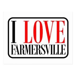 Farmersville, Alabama Postcard