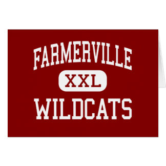 Farmerville - Wildcats - Middle - Farmerville Greeting Card