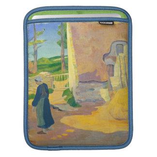 Farmhouse at Le Pouldu, 1890 (oil on canvas) iPad Sleeve