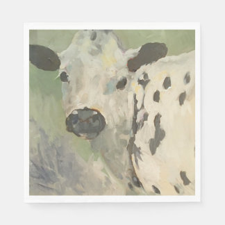 Farmhouse Baby Cow Napkins Disposable Serviette