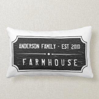 Farmhouse Family Sign Pillow