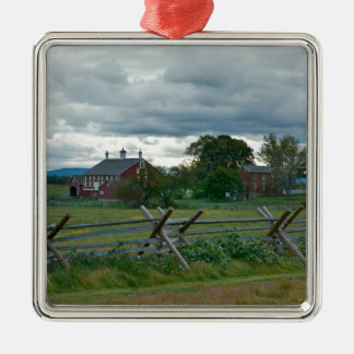 Farmhouse - Gettysburg National Park Pennsylvania Christmas Ornament