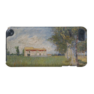 Farmhouse in a wheat iPod touch 5G cover
