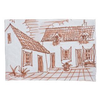 Farmhouse in Belle, France Pillowcase