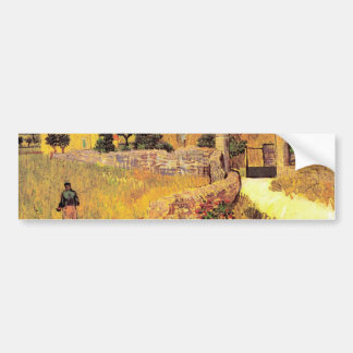Farmhouse in Provence by Vincent van Gogh Bumper Sticker