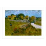 Farmhouse in Provence, Vincent Van Gogh Postcard