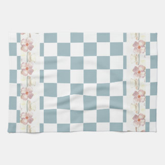 Farmhouse Kitchen Country Checkerboard Shabby Chic Towels
