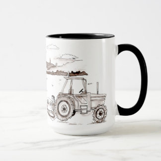 Farming Dinner in the Field Mug